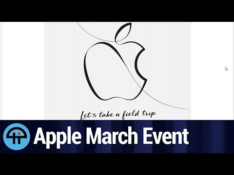 Apple's 3/27 Event - What's in Store?