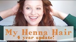 My Henna Hair ♥ Henna Hair Dye Routine 4 Year Update