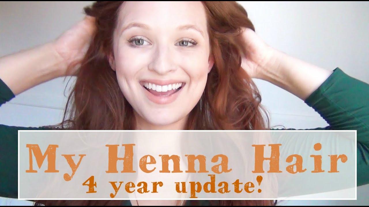 My Henna Hair Henna Hair Dye Routine 4 Year Update Youtube