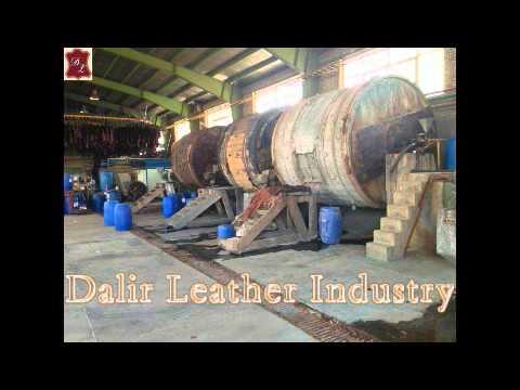 مراحل ساخت چرم در یک نگاه Dalir Leather Industry     - YouTubeمراحل ساخت چرم در یک نگاه Dalir Leather Industry