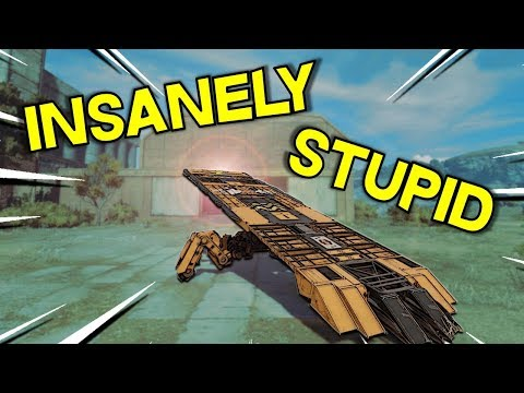 Insanely Stupid Builds -- Crossout