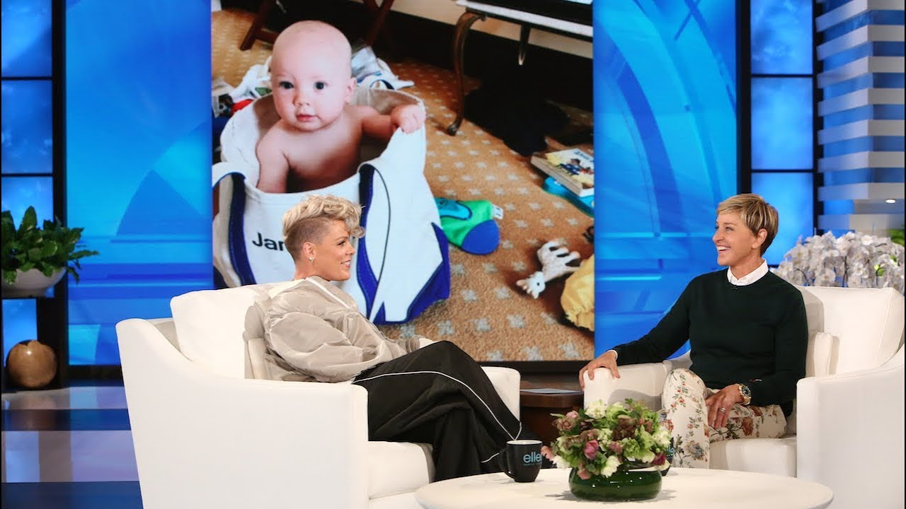 653e0d73523c P!nk Opens Up About Her Resilient Daughter & Breastfeeding Her Son ...