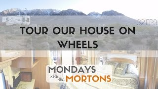 Tour our tiny house on wheels fifth wheel RV while off grid! - Mobile Suites 32TK3