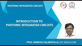 Introduction to Photonic Integrated Circuits