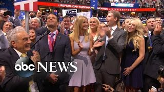 Trump Nominted For President at Republican Convention