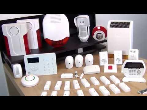Alarme maison sans fil GSM RTC