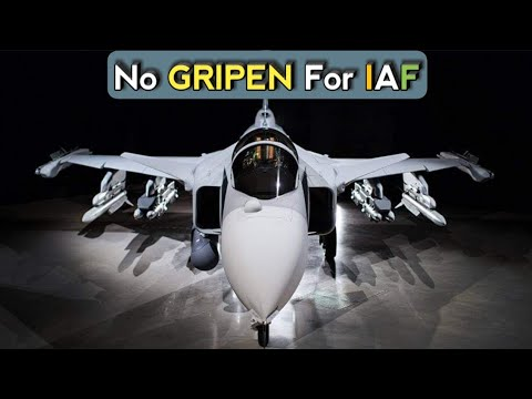 GRIPEN Fighter For Indian Air Force - SAAB Gripen In IAF MMRCA 2.0 Deal   SAAB Gripen For India