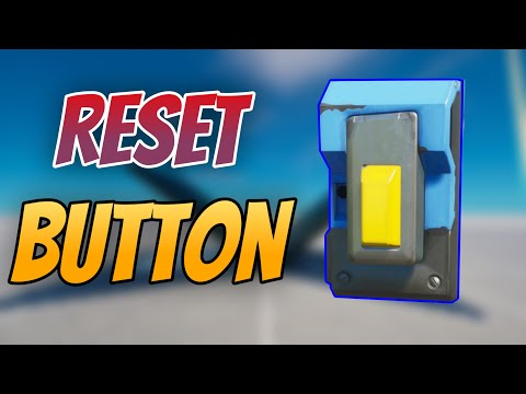 How To Make A 1v1 Build RESET BUTTON - Very Easy Tutorial - Fortnite Creative/Reset Button Chapter 2