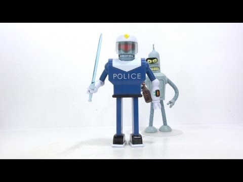 Video Review of the Toynami, Futurama Series 9 figure: Url