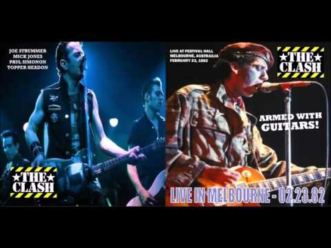 The Clash - Live In Melbourne, Australia, 1982 (Full Concert!)
