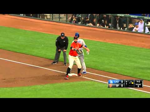 Giants vs. Dodgers 04.08.2016 [Full Game HD]
