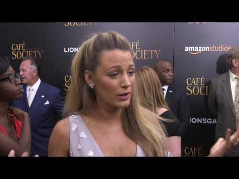 Café Society: Blake Lively Movie Premiere Interview