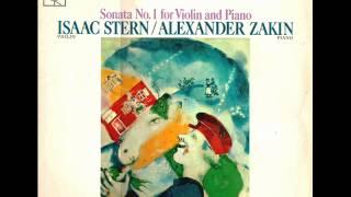 Ernest Bloch-Violin Sonata no. 1 (Complete)