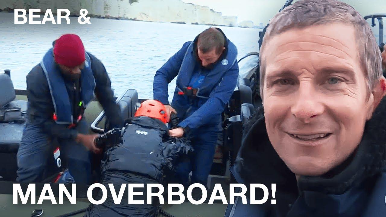 Man Overboard!   Bear Grylls Road Trip   Bear &