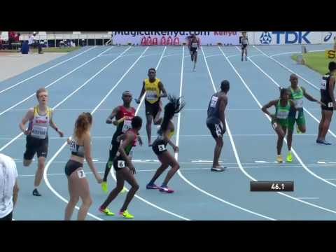Mary Moraa of Kenya thrills crowds at Kasarani stadium Nairobi Kenya