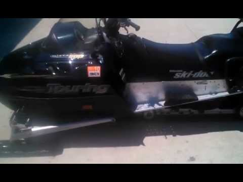 ski doo 500 grand touring snowmobile youtube. Black Bedroom Furniture Sets. Home Design Ideas