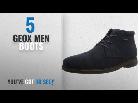 Top 10 Geox Men Boots [ Winter 2018 ]: Geox Men's Mbrayden2fitabx1 Rain Boot, Navy, 39 EU/6 M US