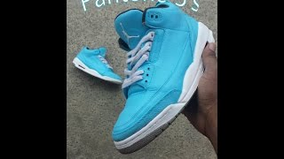 Custom Closet: Air Jordan Iii (3) Pantone +on Feet