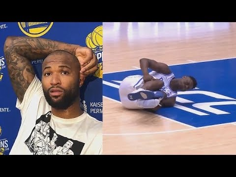 DeMarcus Cousins Goes Off After Zion Williamson Injury!