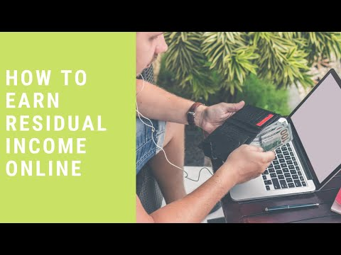 HOW TO MAKE PASSIVE INCOME ONLINE thumbnail