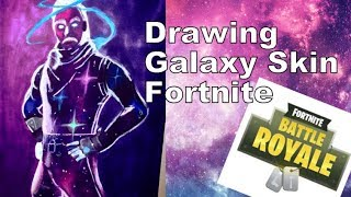 Fortnite Galaxy Skin Drawing