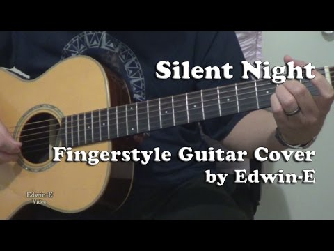 how to play silent night on guitar fingerstyle