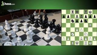 Giant Tandem Bullet Chess At 2015 Sinquefield Cup: Game 1