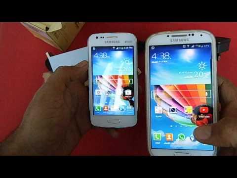 فتح صندوق جالكسي ايس 3 Samsung Galaxy ACE3 Unboxing
