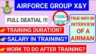 AIRFORCE GROUP X&Y TRANING DURATION/SALARY/PROMOTION||AIRFORCE GROUP X&Y PHASE 2 REVIEW 2/2019.