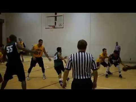 Hawaii Basketball Summer League - Electricians HI vs Clark Hatch - 2nd Half  7-9-16