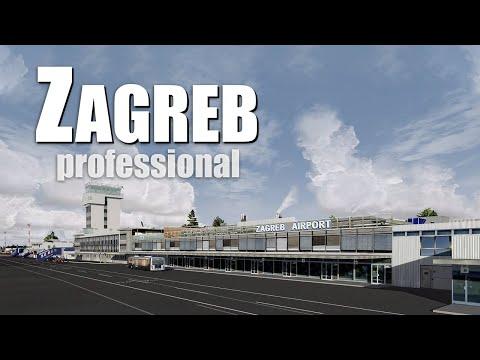 Zagreb Professional Prepar3d V4 Add On Official Trailer Aerosoft Youtube