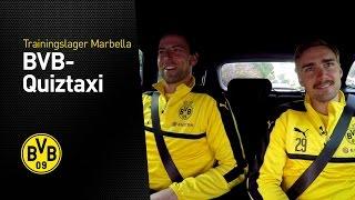 BVB-Quiztaxi in Marbella - Teil 1 |  Marbella 2017