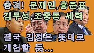 [정미홍칼럼]#41. 김정은 신년사대로 문재인, 홍준표 세력이 갈 수밖에 없는 이유