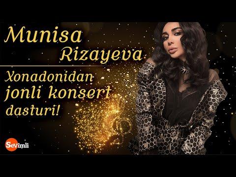 MUNISA RIZAYEVA Xonadonidan Jonli Konsert Dasturi!