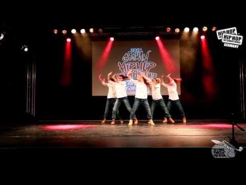 Ruff Cats - German Hip Hop Dance Championship 2016 Süd/West Qualifier