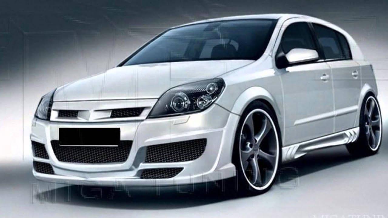 Opel Astra H - Tuning - Body kits - YouTube