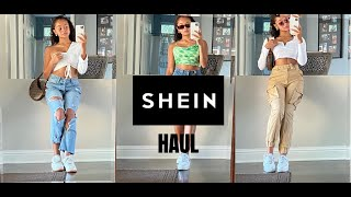 SHEIN HAUL+TRY ON+UNBOXING | heavenmarley