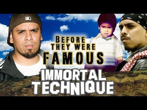 IMMORTAL TECHNIQUE - Before They Were Famous - Felipe Andres Coronel
