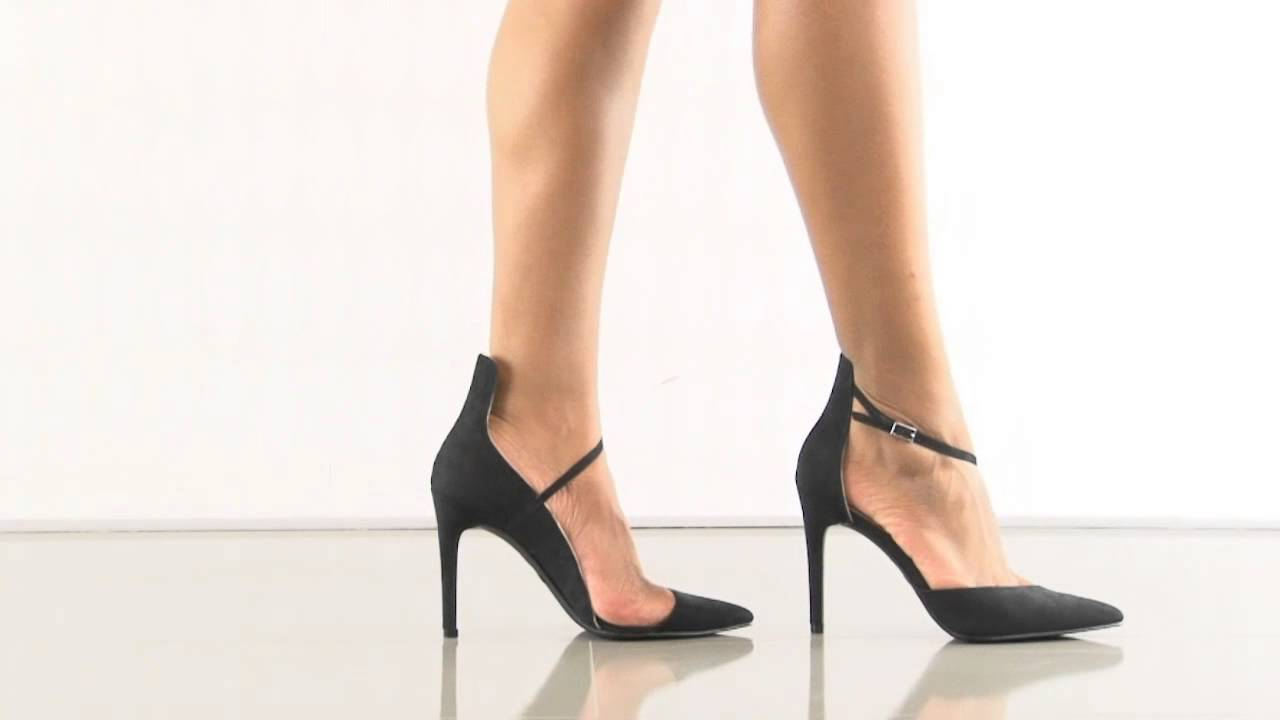 a762728ae4fe Mona in Black Nova Suede Mia - YouTube