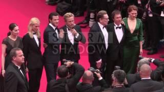 CANNES FILM FESTIVAL - Gaspard Ulliel, Lea Seydoux, attending the Saint Laurent premiere in Cannes