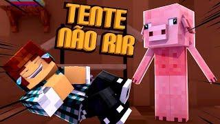 Tente Não Rir #01 - OS ANIMAIS MAIS ENGRAÇADOS DO MINECRAFT !!