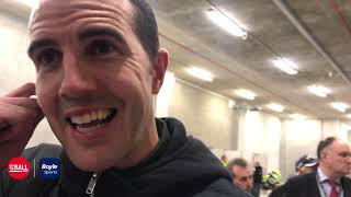 John O'Shea on Liam Miller Tribute match, Reading FC and Declan Rice