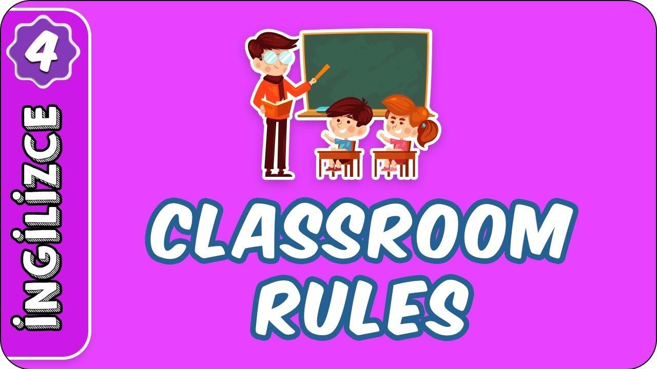 2020-21 4.SINIF İNGİLİZCE UNIT 1 SAYFA 7-14 CLASSROOM RULES İLKOKUL ÜNİTE 1 FUL