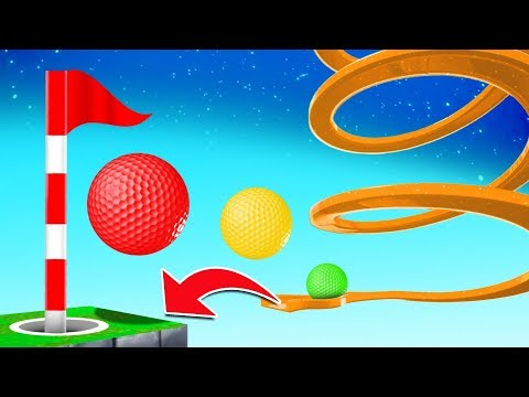 They Added MARBLES To GOLF IT! (crazy map)