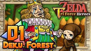 The Legend of Zelda: Tri Force Heroes - Part 1 - Deku Forest