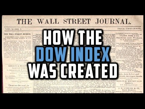 HOW THE DOW WAS CREATED (History Of Dow Jones Index) [Financial Markets History #2]