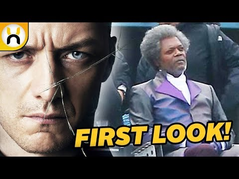 Glass FIRST LOOK at Samuel L. Jackson on Set
