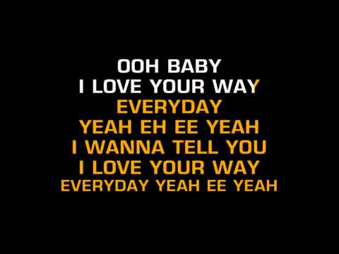 Big Mountain - Baby, I Love Your Way (Karaoke)