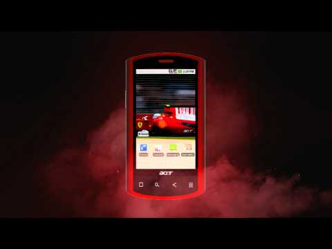 Passion Meets Power in The World's Most Exclusive Smartphone: Acer Liquid E Ferrari Special Edition