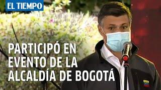Leopoldo López participó en evento de la alcaldía de Bogotá